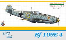 MESSERSCHMITT Bf-109 E-4  1/32 EDUARD WEEKEND EDITION