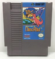 Nintendo NES Adventures of Dino-Riki Game Cartridge *Authentic/Cleaned/Tested*