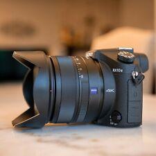 Sony Cyber-shot RX10 Mark ii Camera (Kit W/ 24–200 mm F2.8 Lens) - Black