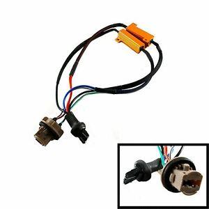 7443 7444 T20 Error Free Switchback Load Resistor Anti Flash Decoder LED Lights