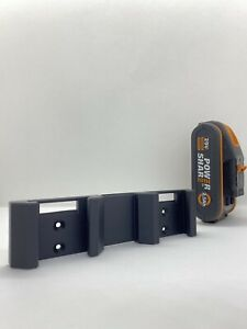 Akku Wand Halterung 16V 20V Doppel Batterie Halter - Worx Power Share Wandhalter