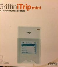Griffin iTrip FM Transmitter for iPod mini; iPod classic (White)