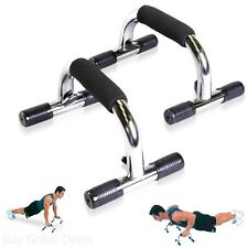 Push Up Bars Pair Workout Exercise Gym Training Stands Fitness Home New