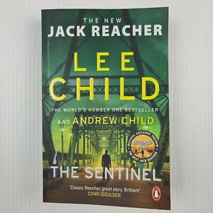 The Sentinel By Lee Child Jack Reacher Series #25 Medium Paperback -TRACKED POST