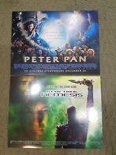 Lot of 15 promo movie posters, Harry Potter, Virus, Scorpion King, MI2