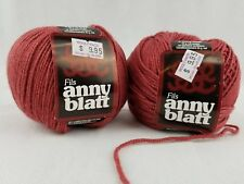 Anny Blatt Cachemir Light Yarn 25G Color 3712 Salmon Discontinued