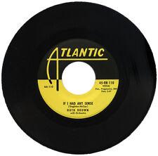 "RUTH BROWN  ""IF I HAD ANY SENSE""   KILLER 50's R&B    LISTEN!"
