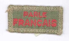1950's UNITED KINGDOM / UK SCOUTS - FRANCAIS / FRENCH Interpreter Strips Badge