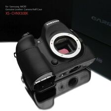 GARIZ Leather Case for Samsung NX30 XS-CHNX30BK Black