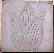 LARGE DIY TULIP FLOWER STEPPING STONE CONCRETE MOLD 18x18x2.25 + FREE SHIPPING