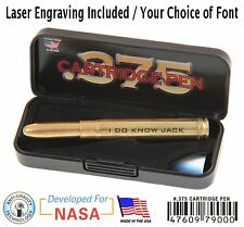 Fisher Space Pen #375 / Personalized .375 H&H Bullet Pen