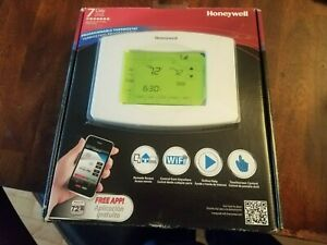 New Honeywell Wi-Fi 7-Day Programmable Touchscreen Thermostat (RTH8580WF)