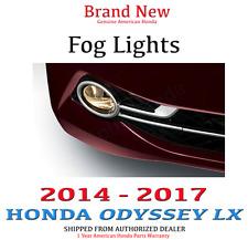 2014 - 2017 Genuine OEM Honda ODYSSEY LX Fog Light Set  W/ Switch