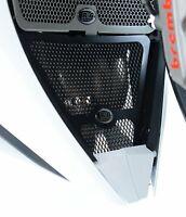 R&G Racing Downpipe Grille for the Honda CBR1000RR Fireblade 2012-2016 DG0006BK