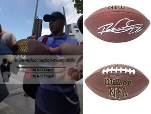 Rod Woodson Steelers Autograph Signed NFL Football Ravens Raiders 49ers Proof