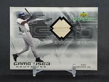 2000 Upper Deck MVP Souvenirs Ken Griffey Jr Mariners Game Used Bat Rare Sp