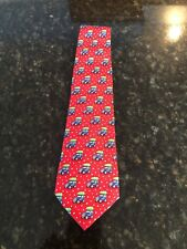 Vineyard Vines Boys Tie, Woody & Tree, Red, New With Tags