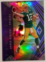 2018 Panini Phoenix Unmatched Purple/75 #15 Aaron Rodgers Green Bay Packers Card