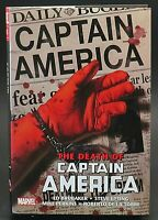 RARE! Death of Captain America Omnibus Hardcover(HC) by Brubaker OOP!