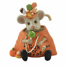 Halloween Halloween Nibbles Polyresin Mouse Trick Or Treat Apple Td0060