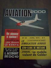 Aviation 2000 N°) 22 Le simulateur Airbus Le mobile volant de Calder Le Mystère