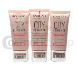 BOURJOIS City Radiance Foundation, Various Shades
