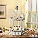 NEW DELUXE HOME DECOR BIRD CAGE WEDDING RECEPTION CARD HOLDER FREE SHIPPING