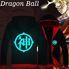 Casual Hoodie Anime Dragon Ball Z battle of gods Luminous Fashion Sweat shirt