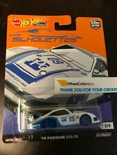 '78 Porsche 935-78 WHITE * 2019 Hot Wheels SILHOUETTES Car Culture Case J * T14