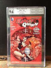 DC Harley Quinn #4 ~ RRP~ PGX SS 9.6 NM+  signed by Amanda Conner~Batman~not CGC
