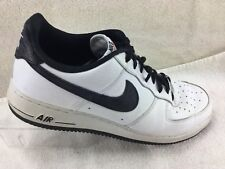 Nike Air Force 1 Men's Shoes White Leather Size 12 488298-152