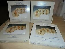 Lot of 4 Goebel The Celebration Plate Series 1986-1989 Entire Series Mint in Box