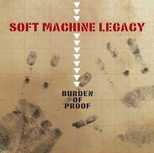 Soft Machine Legacy Burden Of Proof CD NEW SEALED 2013 John Etheridge