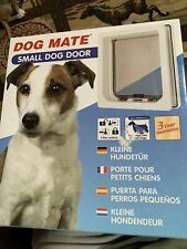 New ListingDog Mate Small Dog or Cat Pet Door White