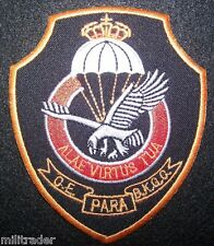 Belgium Belgian Special Forces Commando Sleeve Patch