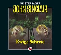 "Preisalarm! * HÖRSPIEL CD * JOHN SINCLAIR ""Ewige Schreie"" 84 * NEU/OVP"