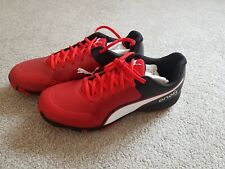 PUMA 19 FH (Red) Cricket Rubber Studs Shoes 2019