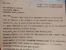 More details for ww1 memoirs deserter / boy grenadier guards1984 photocopy & letter h calvert