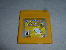 NINTENDO GAMEBOY GAME CARTRIDGE ONLY POKEMON SPECIAL PIKACHU EDITION CART YELLOW