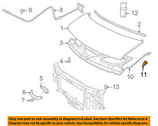 GM OEM Hood-Support Prop Rod Holder Clip Clamp 88891789