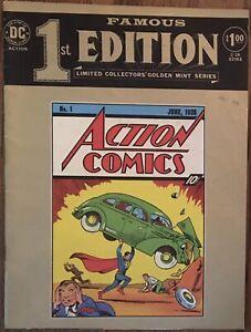 Famous First Edition #C-26 (1974, DC) reprints Action Comics #1 1st Superman app