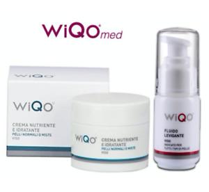 WiQO Cream For Dry & Ultra Dry Skin Skin (50ml) + Smoothing Fluid (30ml)