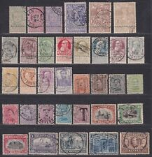 Belgium 1894-1920 Classic Stamp Collection 34 Different Stamps Scv $110.20