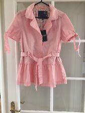 Debenhams Pink Jasper Conran Belted Summer Jacket Age 14 New With Tags Girls