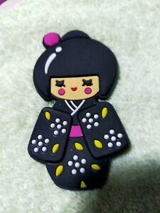 magnets figurine chinoise pour frigo noir aimant