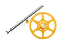 Microheli Blade 130x Delrin Main Gear w/ Auto-Rotation Hub set (GOLD) 130 X