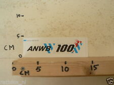 STICKER,DECAL ANWB 100 HONDERD JAAR 1883-1983