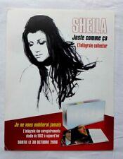 RARE SHEILA PRESENTOIR PYRAMIDE CARTON SOUPLE INTEGRAL 2008