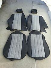 BMW E30 325i 318e UPHOLSTERY KIT STANDARD SEATS BLK/WHITE HOUNDS TOOTH BEAUTIFUL