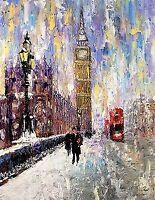 London England Westminster Big Ben Thames LTD EDITION Art PRINT Andre Dluhos